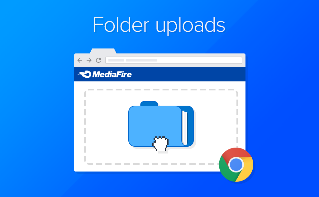 Illustration of Folder Uploads in Chrome